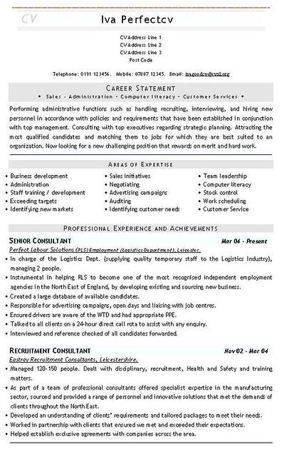 19 Hr Description For Resume Contract Cv Job Application