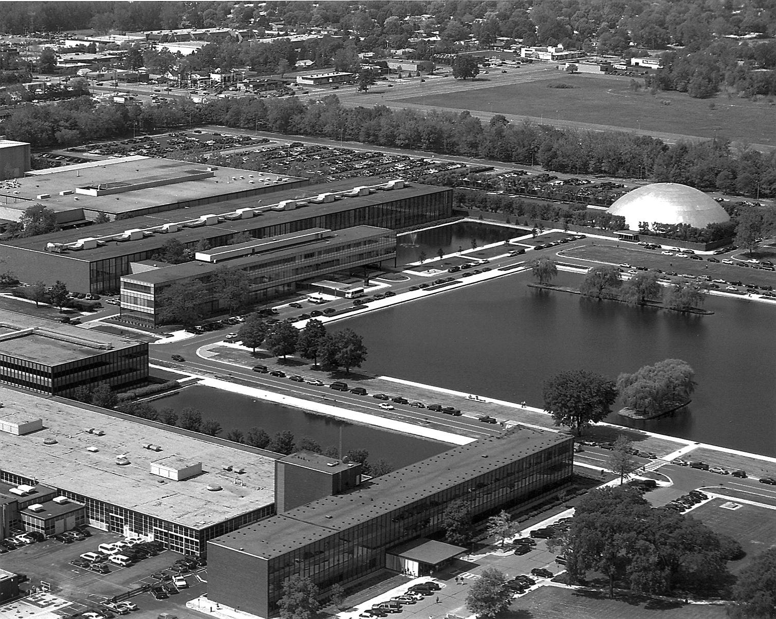 General Motors Technical Center 1956 Eero Saarinen