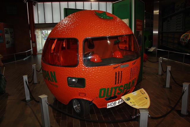 1972 Austin Mini based Outspan Orange Car