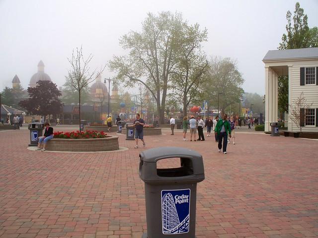 Cedar Point - WindSeeker Area