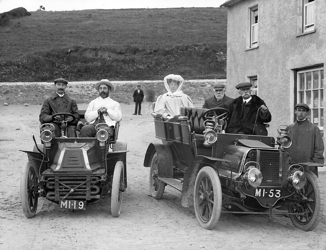 Group in motor cars bunmahon co waterford flickr for A b motors waterford mi