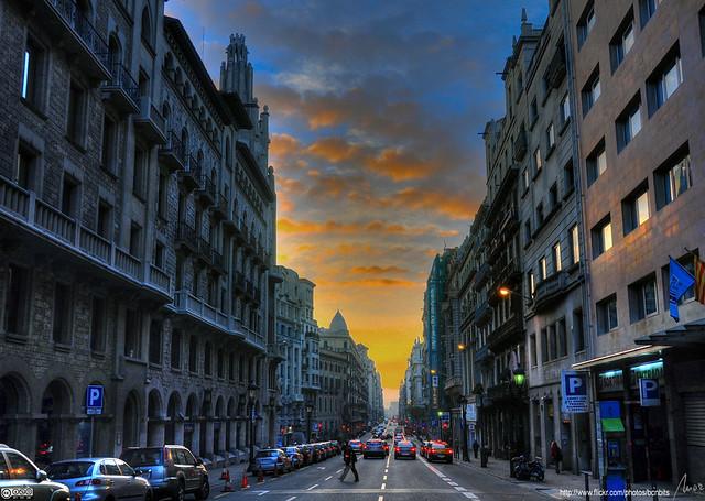 Via Laietana - Barcelona