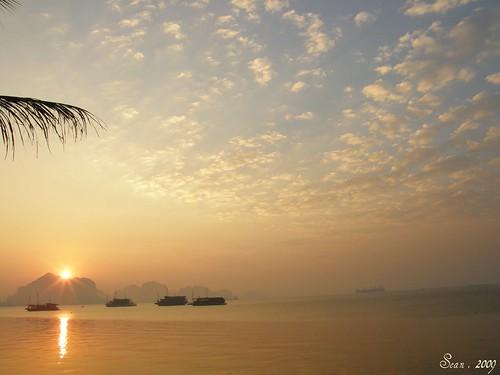 2009越南世遺遊下龍灣vịnh