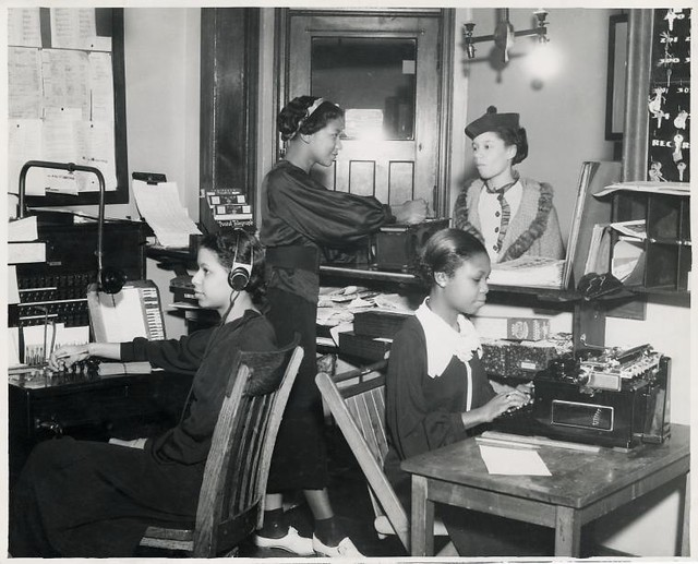 African American Office Clerks