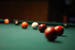 recreation(0.0), cue stick(0.0), games(0.0), carom billiards(0.0), indoor games and sports(1.0), individual sports(1.0), snooker(1.0), sports(1.0), red(1.0), nine-ball(1.0), pool(1.0), billiard table(1.0), billiard ball(1.0), eight ball(1.0), english billiards(1.0), cue sports(1.0),