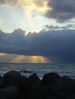 Wave Watching Sunset