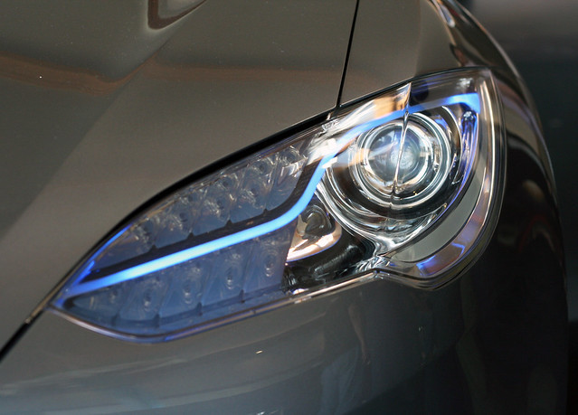 Tesla >> Tesla Model S headlamp | Flickr - Photo Sharing!