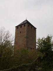 erhobener Burgfried