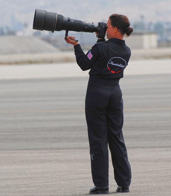 Even the Thunderbirds use Nikon!