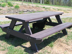 bench, outdoor furniture, furniture, coffee table, table,