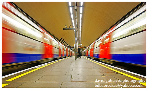 London Underground in Double Vision ...;-}