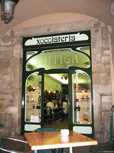 Xocolateria Antiga, Barri Vell, Girona, Spain