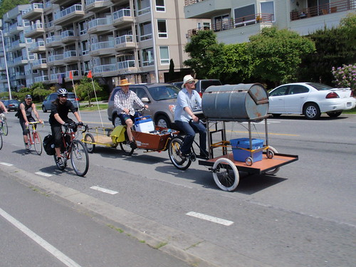 Memorial Day cargo bike jamboree