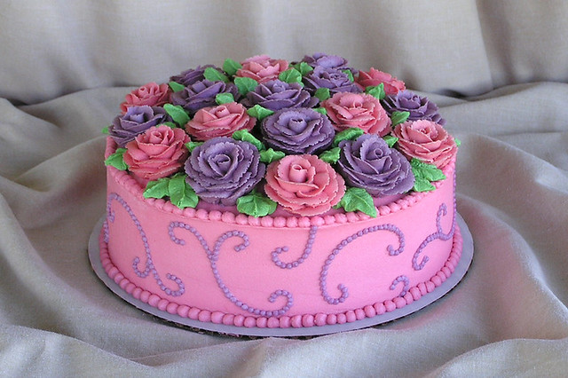 Rose Cake 2 Flickr - Photo Sharing!