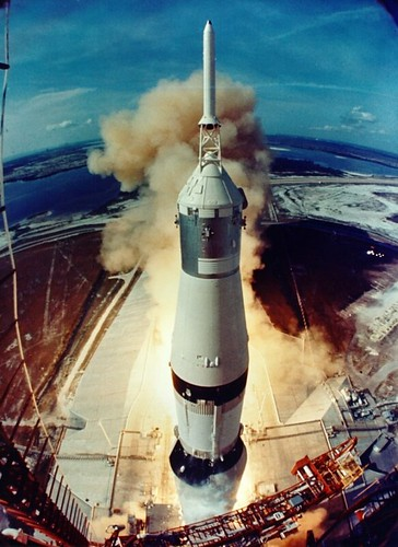 Apollo 11 Liftoff (NASA, Moon, 6/18/09)
