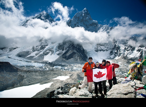 Oh Canada at Everest