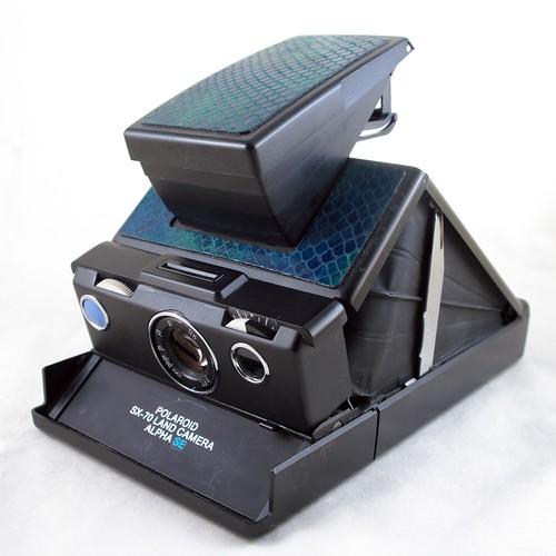 Polaroid SX-70 Land Camera Alpha SE