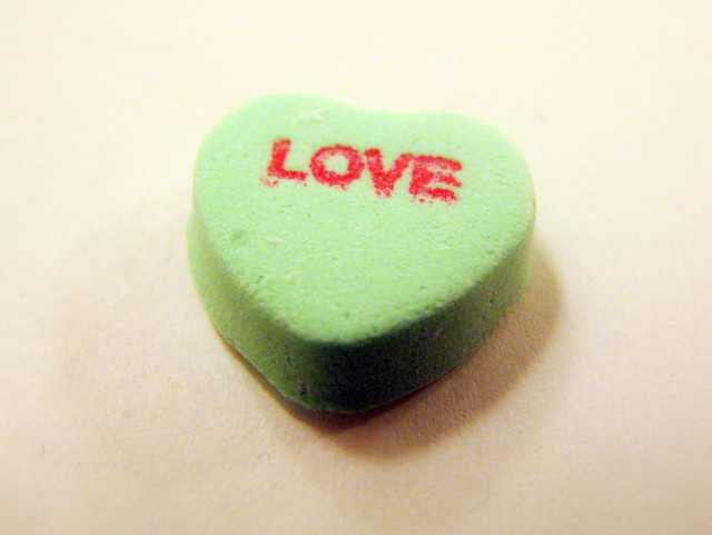 Candy Hearts: Love | Flickr - Photo Sharing!