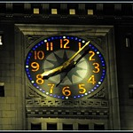 Custom House Tower Clock / Close-Up (2 of 2)