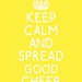 Keep Calm Parody - Yellow
