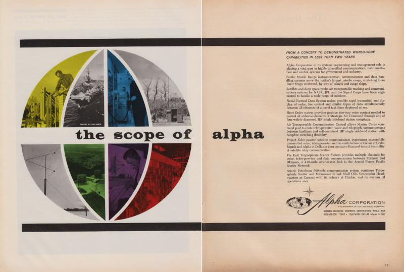 Alpha Corporation Ads