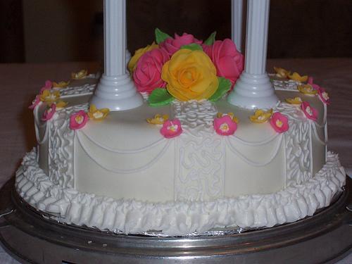 Yellow Butterscotch Cake