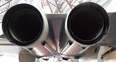 automotive exterior(0.0), loudspeaker(0.0), bass drum(0.0), wheel(0.0), rim(0.0), drum(0.0), audio equipment(0.0), brass instrument(0.0), aircraft engine(0.0), exhaust system(1.0),