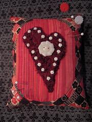 Red Pincushion