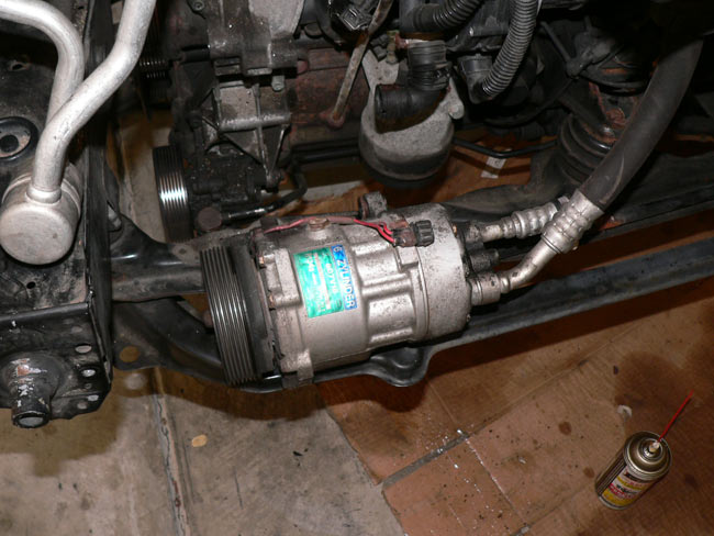 Where Can I Get High Pressure Air : Vwvortex diy a c air conditioning replacement on