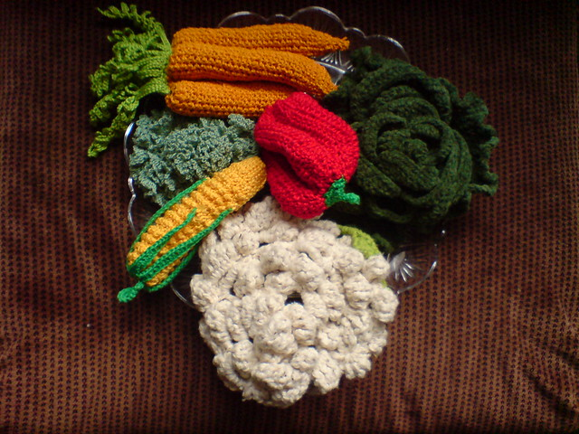 Crocheting Vegetables : Crocheted vegetables collection Flickr - Photo Sharing!