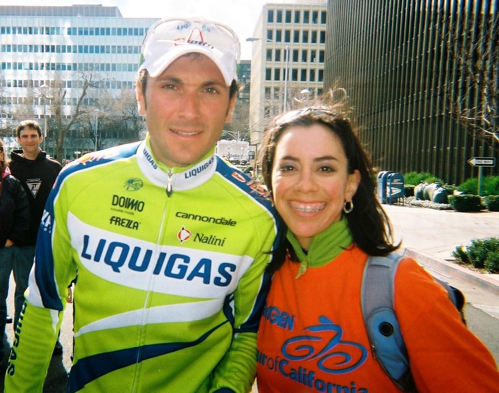 w/ Ivan Basso of Liquigas