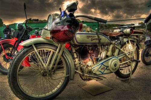Harley Davidson Motorcycle HDR