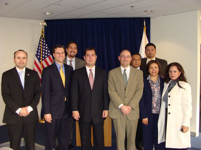 Baja California Attorney General Visit: April 2009