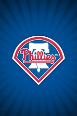 Philadelphia Phillies Alt Wallpaper [iOS4 Retina Display]