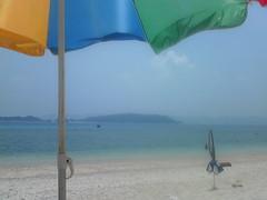 okinawa summer beach + parasol