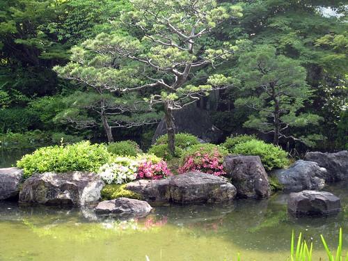 Pond garden, Jonangu Kyoto