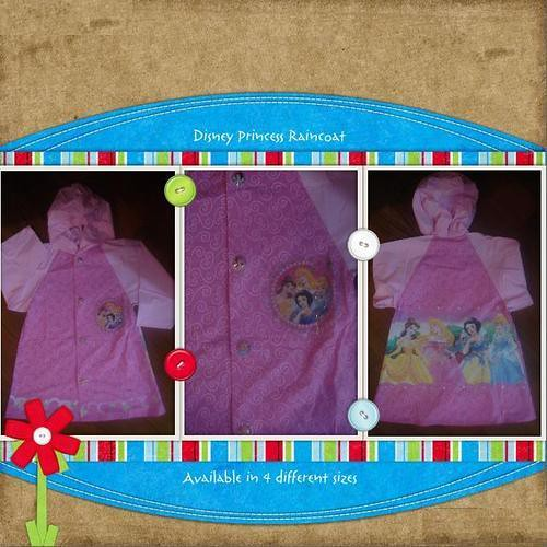 Disney Princess Raincoat For Girls - Lowest Prices  Best Deals on