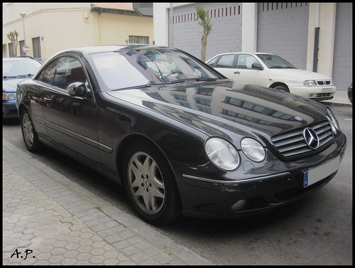 2006 mercedes benz cl 500 w215 a photo on flickriver. Black Bedroom Furniture Sets. Home Design Ideas