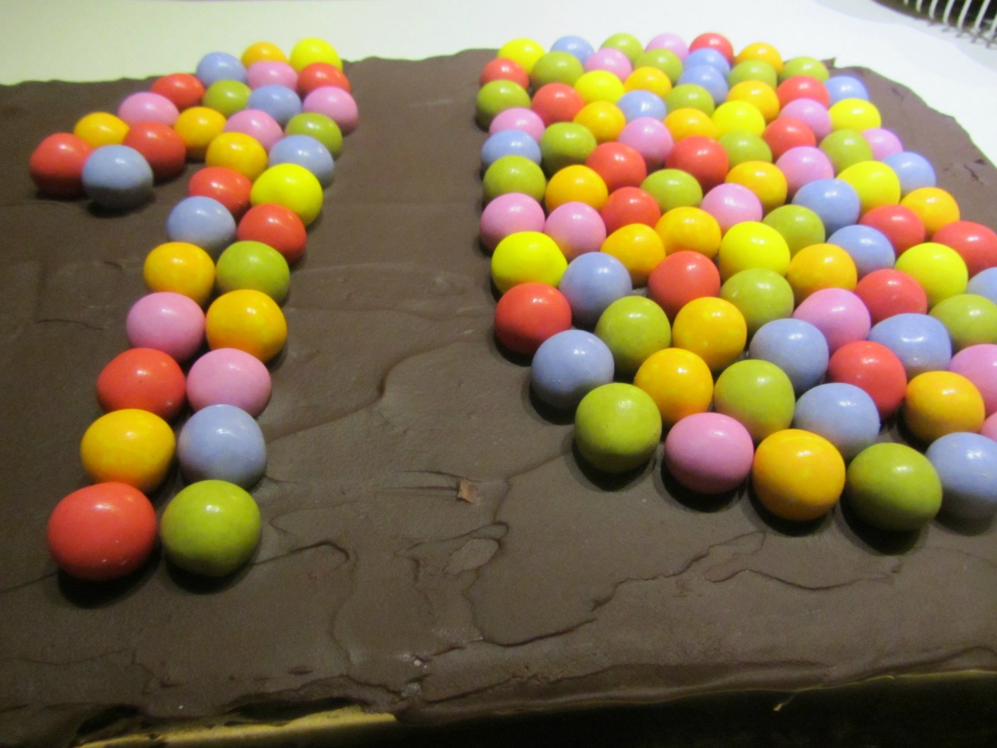 Chocolate birthday cake3