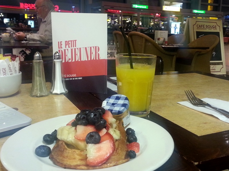 Cafe Rouge pain perdu
