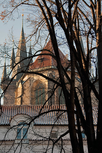 Prague - Tyn Cathedral from behind