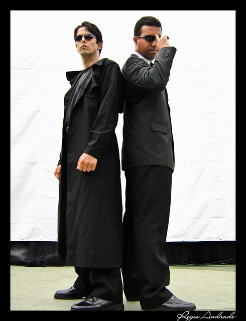 Matrix cosplay