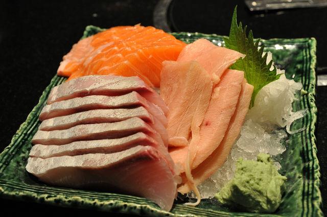 春日日本料理-混合刺身(生魚片) NT$460