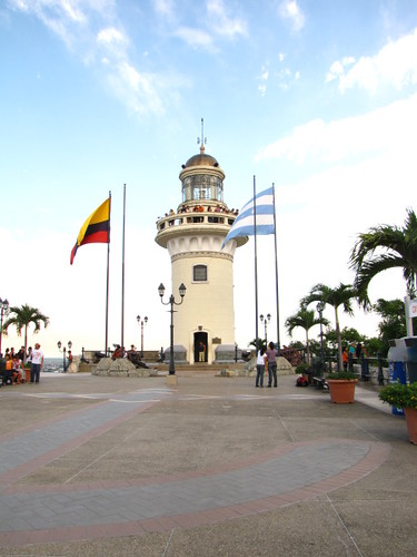 LightHouse at the Top of Santa Ana Hill in Guayaquil