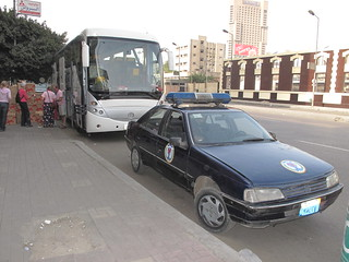 Loading the Bus, with Egyptian security