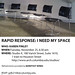 Rapid Response: I need my space!