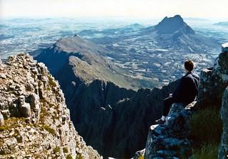 View from 'Die Pieke'