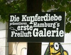 Kupferdiebe & Gängeviertel Graffiti