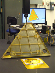 measuring a...gold...triangle...thingy!