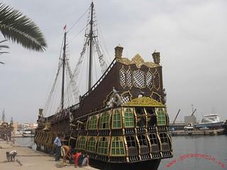 Sousse Port, galeon